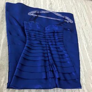 BCBG Dresses - BCBG BluSaphire Blue Long Dress Floor Length 0